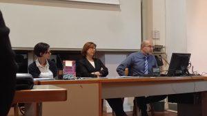 Josette Caruana, chair, University of Malta; Isabel Brusca, University of Zaragoza; Giuseppe Grossi, Kristianstad University; Francesca Manes Rossi, University of Salerno