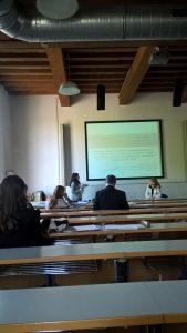 Francesca Manes Rossi, Chair, University of Salerno; Elisa Mori, University of Modena & Reggio Emilia